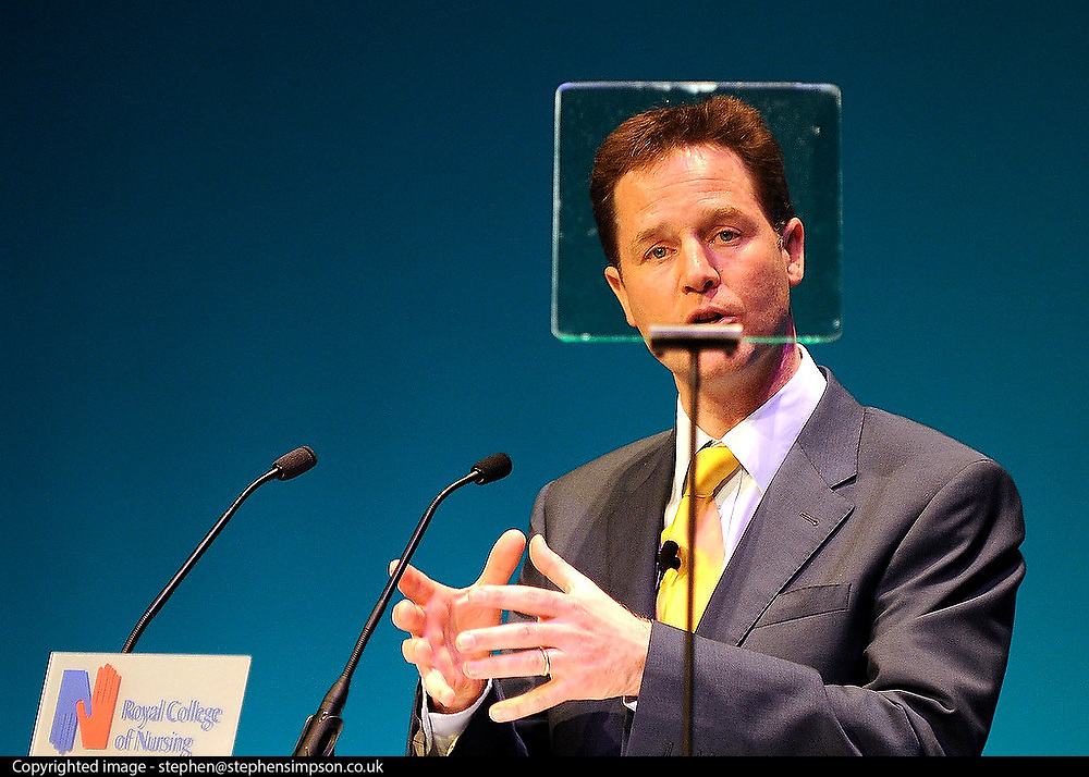 Nurses should be given more say in how the NHS is run, Liberal Democrat leader Nick Clegg has said. He was addressing nurses at The Bournemouth International Centre today