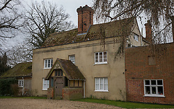 © Licensed to London News Pictures. 19/03/2016. Aylesbury, UK. Iain Duncan Smith's home. The former Conservative Party Leader has resigned his cabinet post of Work and Pensions Secretary over disagreements on welfare reform. Photo credit: Peter Macdiarmid/LNP
