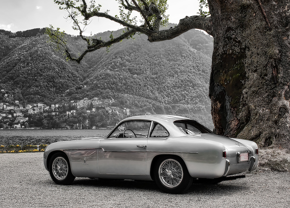 1954 Fiat 8V Coupé by Ghia