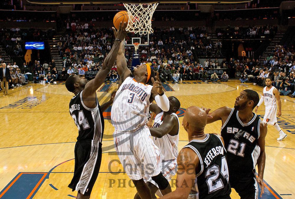 NBA: NOV 8 - Spurs at Bobcats   Chris Keane Photography