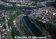 Easton, PA, Aerial, Delaware River