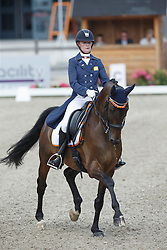 Vervoort Laurie, (NED), Chester<br /> Equine MERC Young Riders Team Test<br /> Dutch Championship Dressage - Ermelo 2015<br /> © Hippo Foto - Dirk Caremans<br /> 17/07/15
