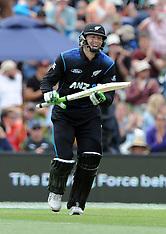 Christchurch-Cricket, New Zealand v Sri Lanka, 2nd ODI