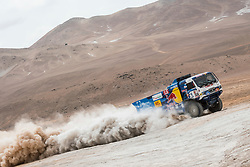 Dmitry Sotnikov (RUS) of Team KAMAZ-Master races during stage 04 of Rally Dakar 2019 from Arequipa to o Tacna, Peru on January 10, 2019 // Marcelo Maragni/Red Bull Content Pool // AP-1Y39E9CW91W11 // Usage for editorial use only // Please go to www.redbullcontentpool.com for further information. //