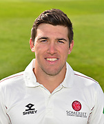 Head shot of Jamie Overton of Somerset during the 2019 media day at Somerset County Cricket Club at the Cooper Associates County Ground, Taunton, United Kingdom on 2 April 2019.