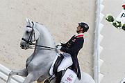 Michael Eilberg - Half Moon Delphi<br /> Alltech FEI World Equestrian Games™ 2014 - Normandy, France.<br /> © DigiShots