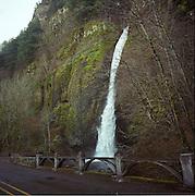 Horsetail Falls, Columbia Gorge National Scenic Area near Portland Oregon