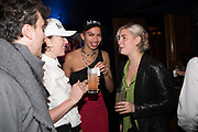 ELLA LETANG, BRENNA HORROX,, The launch of HI-NOON a photography exhibition at Tramp, London. 29 October 2019