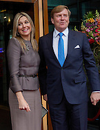 Zwolle, 18-04-2016<br /> <br /> King Willem-Alexander and Queen Maxima, Princess Beatrix and Mr Pieter van Vollenhoven attended the KingS Day Concert.<br /> <br /> <br /> ROYALPORTRAITS EUROPE BERNARD RUEBSAMEN