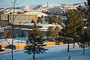 Pocatello, Idaho. Idaho State University campus.