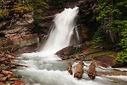 Baring Falls, Glacier National Park, Montana