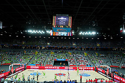 Arena during basketball match between Slovenia and Georgia at Day 2 in Group C of FIBA Europe Eurobasket 2015, on September 6, 2015, in Arena Zagreb, Croatia. Photo by Vid Ponikvar / Sportida