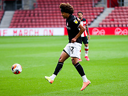 Han-Noah Massengo of Bristol City during a friendly match before the Premier League and Championship resume after the Covid-19 mid-season disruption - Rogan/JMP - 12/06/2020 - FOOTBALL - St Mary's Stadium, England - Southampton v Bristol City - Friendly.