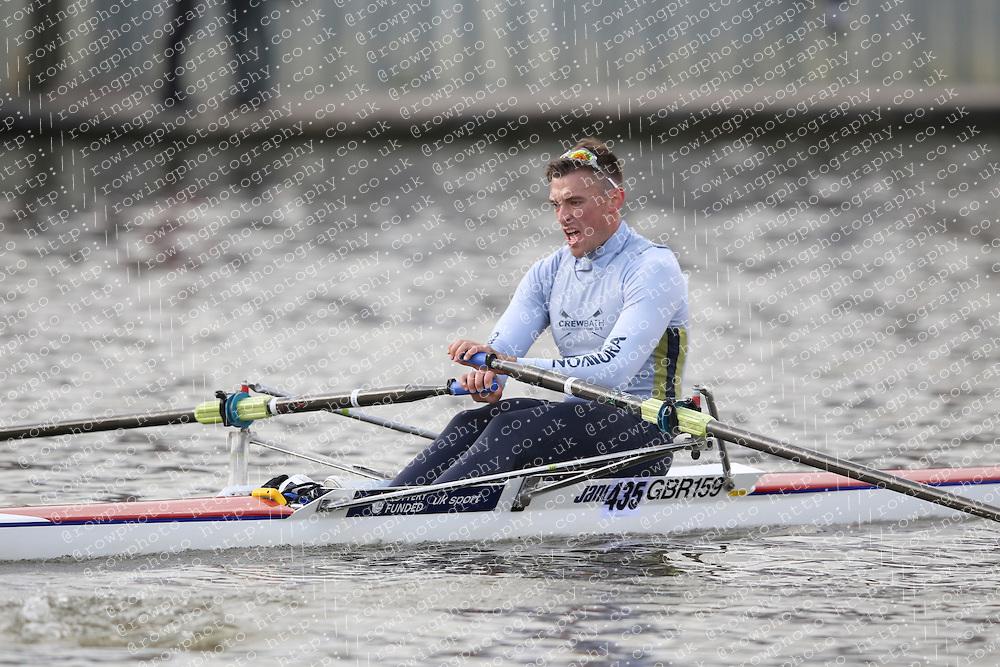 2012.09.29 Wallingford Long Distance Sculls 2012. Division 3. IM3 1x. Bath University Boat Club.