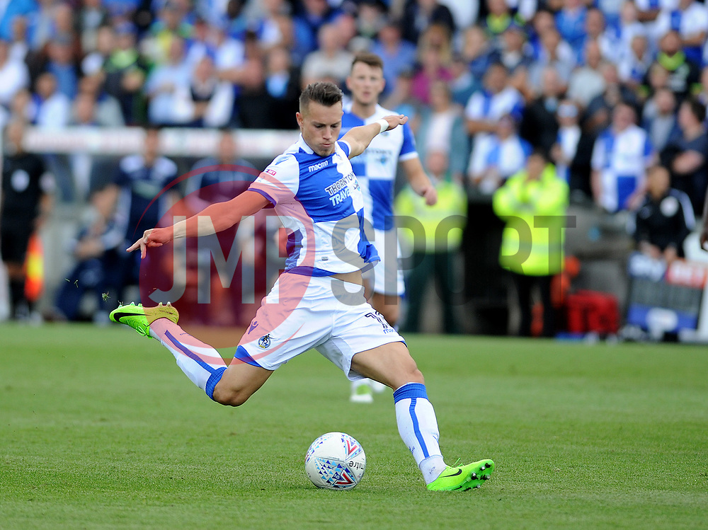 Billy Bodin of Bristol Rovers gets a shot away - Mandatory by-line: Neil Brookman/JMP - 09/09/2017 - FOOTBALL - Memorial Stadium - Bristol, England - Bristol Rovers v Walsall - Sky Bet League One