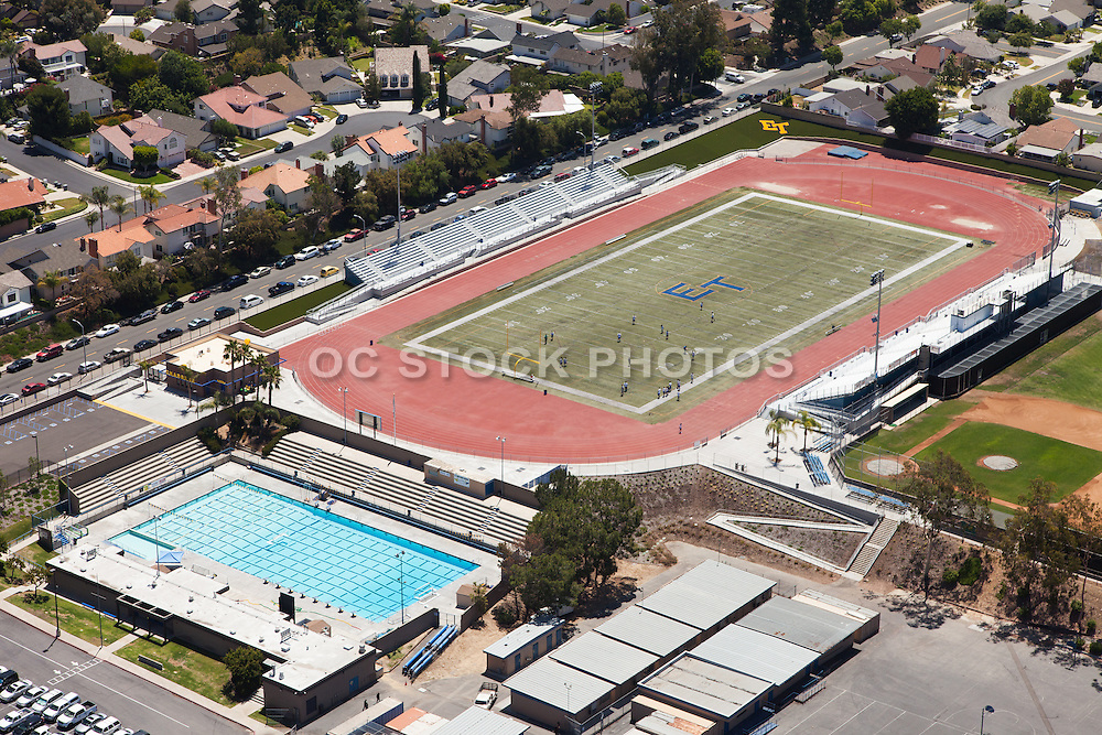 El Toro High School in Lake Forest California Aerial Photo