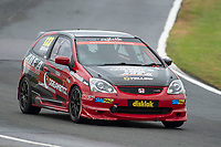 #123 Mark GIBBONS Honda Civic EP3  during Cox Motor Parts Civic Cup  as part of the BRSCC NW Mazda Race Day  at Oulton Park, Little Budworth, Cheshire, United Kingdom. June 16 2018. World Copyright Peter Taylor/PSP. Copy of publication required for printed pictures. http://archive.petertaylor-photographic.co.uk