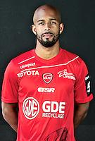 Loic NESTOR - 06.10.2015 - Photo officielle Valenciennes - Ligue 2<br /> Photo : Francois Lo Presti / Icon Sport