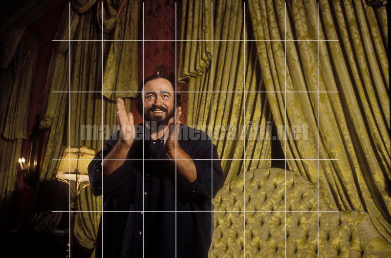 Rome, 1995. Tenor Luciano Pavarotti / Roma, 1995. Il tenore Luciano Pavarotti - © Marcello Mencarini
