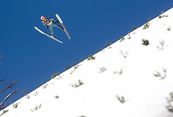 Pius Paschke (GER) during the Qualification round of the Ski Flying Hill Individual Competition at Day 1 of FIS Ski Jumping World Cup Final 2019, on March 21, 2019 in Planica, Slovenia. Photo by Matic Ritonja / Sportida