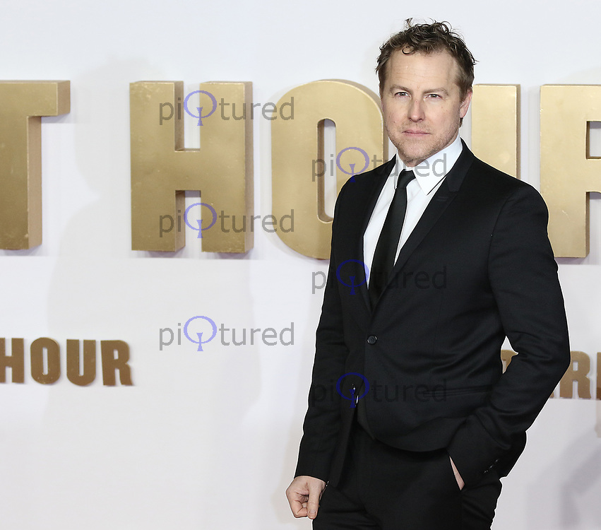 Samuel West, Darkest Hour - UK Premiere, Leicester Square, London UK, 11 December 2017, Photo by Richard Goldschmidt