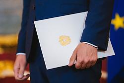 21.05.2019, Praesidentschaftskanzlei, Wien, AUT, Treffen von Bundespraesident Alexander van der Bellen mit Sebastian Kurz (OeVP), im Bild Sebastian Kurz (OeVP)// during a metting between the president Alexander van der Bellen and Sebastian Kurz (OeVP) at the presidents office in Vienna, Austria on 2019/05/21. EXPA Pictures © 2019, PhotoCredit: EXPA/ Florian Schroetter