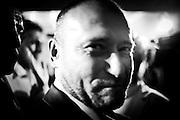 Dimitry Yarosh alla conferenza stampa presso l'Ukraine Crisis Centre in Kiev per le elezioni presidenziali del 25 maggio 2014 in Ucraina. Yarosh è il leader della destra ucraina, Pravy Sektor, animatore della prima ora di piazza Maidan ed oggi candidato alle elezioni post Yanukovych.  - Dimitry Yarosh during a press conference in the Ukraine Crisis Centre in Kiev. He is the Pravy Sektor's leader a far right party, he has been described as one of the most influential figures in Maidan square. Today Yarosh is one of the candidate for next presidential elections that will take place on 25 may 2014.