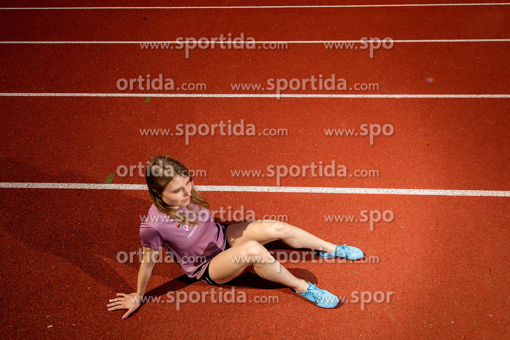 Marusa Mismas, Slovenian Steeplechase Athlete, on April 19th, 2019, in Ljubljana, Slovenia. Photo by Vid Ponikvar / Sportida