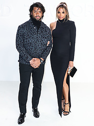 HOLLYWOOD, LOS ANGELES, CALIFORNIA, USA - FEBRUARY 07: Tom Ford: Autumn/Winter 2020 Fashion Show held at Milk Studios on February 7, 2020 in Hollywood, Los Angeles, California, United States. 07 Feb 2020 Pictured: Russell Wilson, Ciara. Photo credit: Xavier Collin/Image Press Agency/MEGA TheMegaAgency.com +1 888 505 6342