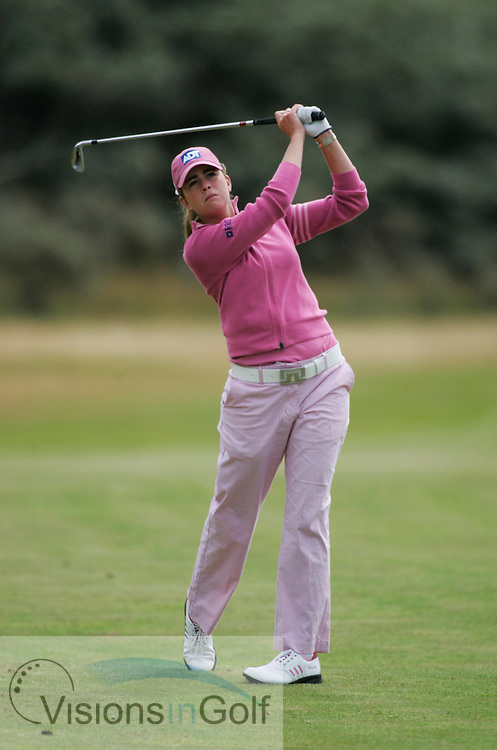 Paula Creamer<br /> Weetabix Womens British Open 2005, Royal Birkdale, England, UK <br /> Photo credit: Mark Newcombe / visionsingolf.com