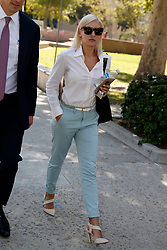 EXCLUSIVE: Mel B's former nanny Lorraine Gilles walks away from court with her legal team while on a break in Van Nuys, CA. 21 Jul 2017 Pictured: Lorraine Gilles. Photo credit: MEGA TheMegaAgency.com +1 888 505 6342
