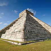 El Castillo (also known as Temple of Kuklcan) at the ancient Mayan ruins at Chichen Itza, Yucatan, Mexico 081216093336_4453.NEF