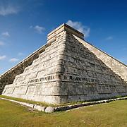El Castillo (also known as Temple of Kuklcan) at the ancient Mayan ruins at Chichen Itza, Yucatan, Mexico 081216093336_4453.NEF
