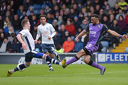Leon Legge of Port Vale flies into a challenge - Mandatory by-line: JMP - 04/05/2019 - FOOTBALL - Gigg Lane - Bury, England - Bury v Port Vale - Sky Bet League Two