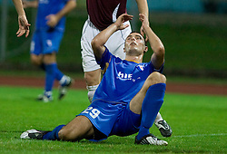 Bojan Dukic of Gorica at 1st football match of 2nd preliminary Round of UEFA Europe League between ND Gorica and FC Lahti, on July 16 2009, in Nova Gorica, Slovenia. (Photo by Vid Ponikvar / Sportida)
