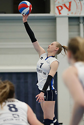 20180331 NED: Eredivisie Sliedrecht Sport - Regio Zwolle, Sliedrecht <br />Christie Wolt (1) of Sliedrecht Sport <br />©2018-FotoHoogendoorn.nl / Pim Waslander