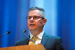 Scottish Finance Secretary Derek Mackay addressing the Scotch Whisky Association annual members' day at the Assembly Rooms. pic Terry Murden @edinburghelitemedia