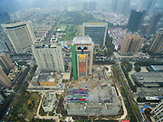 XI\'AN, CHINA - NOVEMBER 15: (CHINA OUT) <br /> <br /> 118-meter-tall Building Blasts Down<br /> <br /> The 118-meter-tall building blasts down on November 15, 2015 in Xi\'an, Shaanxi Province of China. The successful explosion of the 118-meter-tall building on Sunday morning in Xi\'an made the blast record of the tallest building in China.<br /> ©Exclusivepix Media