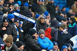 Brighton & Hove Albion fans waves a John Boy scarf - Mandatory by-line: Jason Brown/JMP - 11/02/2017 - FOOTBALL - Amex Stadium - Brighton, England - Brighton and Hove Albion v Burton Albion - Sky Bet Championship