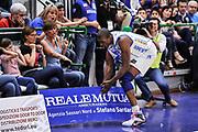 DESCRIZIONE : Campionato 2014/15 Dinamo Banco di Sardegna Sassari - Umana Reyer Venezia<br /> GIOCATORE : Shane Lawal<br /> CATEGORIA : Ritratto Delusione Curiosità<br /> SQUADRA : Dinamo Banco di Sardegna Sassari<br /> EVENTO : LegaBasket Serie A Beko 2014/2015<br /> GARA : Dinamo Banco di Sardegna Sassari - Umana Reyer Venezia<br /> DATA : 03/05/2015<br /> SPORT : Pallacanestro <br /> AUTORE : Agenzia Ciamillo-Castoria/L.Canu
