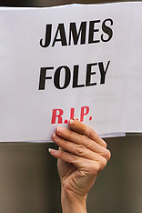 2014-08-20 Christians remember James Foley as they rally against ISIS gencocide of Iraqi minorities