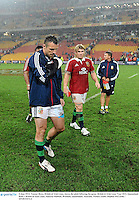 8 June 2013; Tommy Bowe, British & Irish Lions, leaves the pitch following the game. British & Irish Lions Tour 2013, Queensland Reds v British & Irish Lions, Suncorp Stadium, Brisbane, Queensland, Australia. Picture credit: Stephen McCarthy / SPORTSFILE