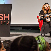 Speakers Ezzie Chidi-Ofong at The Business of African Fashion at WISH Africa Expo, a showcase of Pan-Africanism at Olympia Conference Centre on 9 June 2019, London, UK.