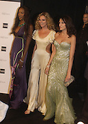 Naomi Campbell, Alexander Mcqueen, Kate Moss and Annabel Neilson, 'Black' fashion show  given by Alexander McQueen and American Express. Earl's court. 3 June 2004. ONE TIME USE ONLY - DO NOT ARCHIVE  © Copyright Photograph by Dafydd Jones 66 Stockwell Park Rd. London SW9 0DA Tel 020 7733 0108 www.dafjones.com