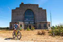 Nicole in training on the beautiful mountain bike track around Radio Kootwijk, the first serious step was taken during this Corona crisis for La Vuelta Soria & Navarra at the Veluwe on June 01, 2020 in Radio Kootwijk, Netherlands