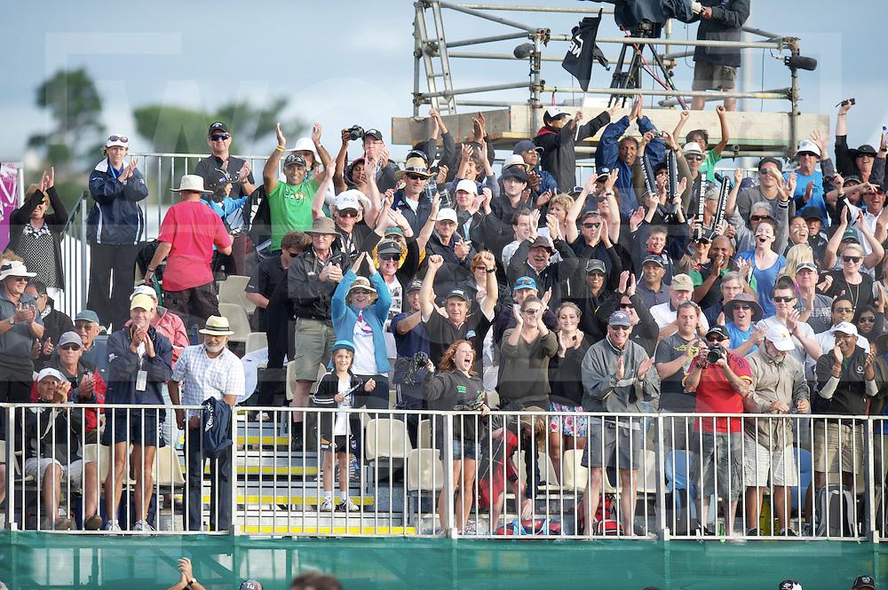AUCKLAND - Champions Trophy men.Netherlands v New Zealand.foto: New Zealand crowd.FFU Press Agency  COPYRIGHT FRANK UIJLENBROEK..