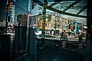 Reflection of window display at Chinatown, Toronto, Canada