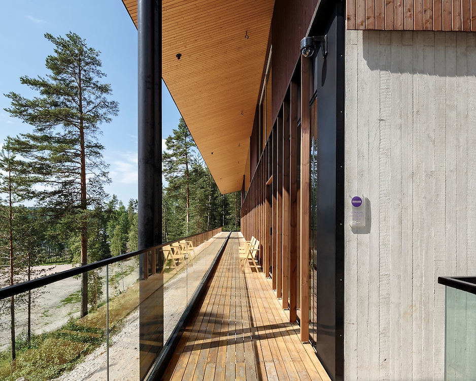 Haltia The Finnish nature center in Espoo, Finland deisgned by Lahdelma & Mahlamäki architects