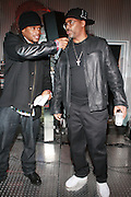 l to r: Sway and Damon Dash at The Rush Philanthropic 2nd Annual Gold Rush Awards Presented by Danny Simmons and Russell Simmons which was held at The Red Bull Space on March 18, 2010 in New York City. Terrence Jennings/Retna..The Gold Rush Awards celebrates and recognizes trailblazers in the Arts Industry who shape contemporary arts and culture across creative disciplines.
