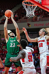 NORMAL, IL - December 16: Jaalam Hill during a college basketball game between the ISU Redbirds and the Cleveland State Vikings on December 16 2018 at Redbird Arena in Normal, IL. (Photo by Alan Look)